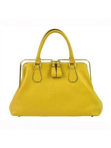 Damska Torebka Skórzana Florence 19 żółty