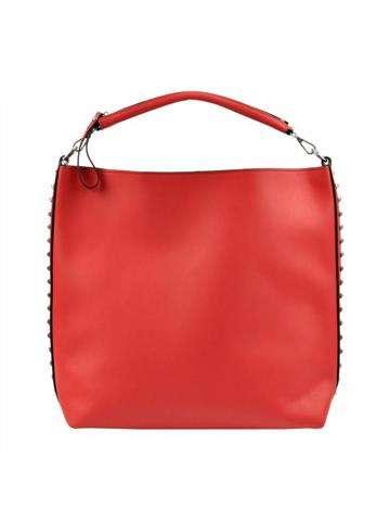 Damska Torebka ekologiczna A4 Glamour 7712 czerwony
