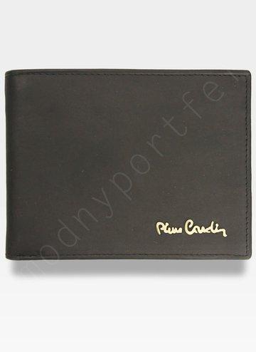 Portfel Męski Pierre Cardin Skórzany Czarny Pudełko Prezent YS520.1 325