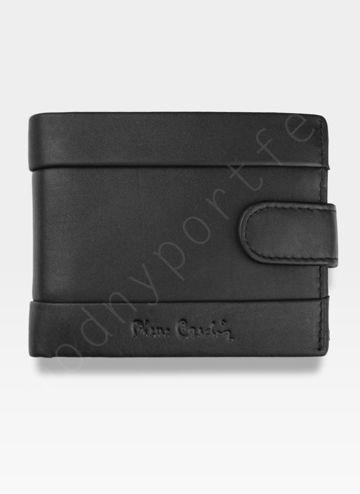 Portfel Męski Pierre Cardin Skórzany Klasyczny Zapinany Tilak25 323A Sahara RFID