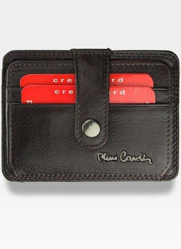 Portfel Skórzany Męski Pierre Cardin Cardholder Mały Brąz P02