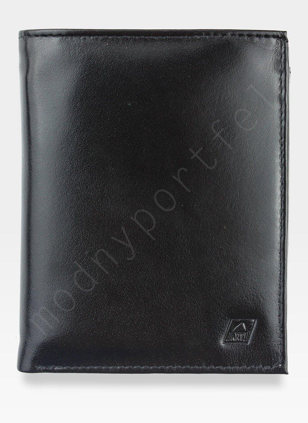3fdb27edb0f98 Portfel Męski Skórzany A-Art Elegancki DUŻY 3496 n51 Czarny RFID Kliknij