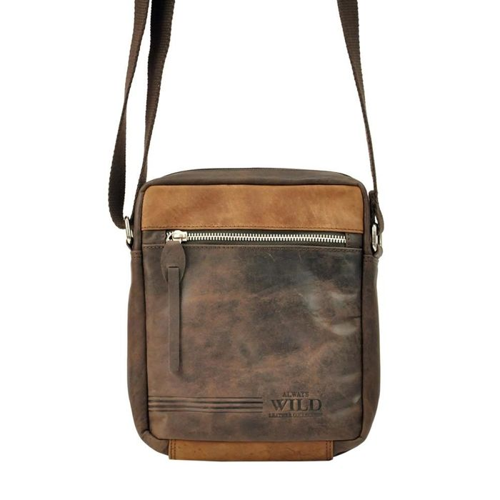 Always Wild BAG-3-HB ciemny brąz