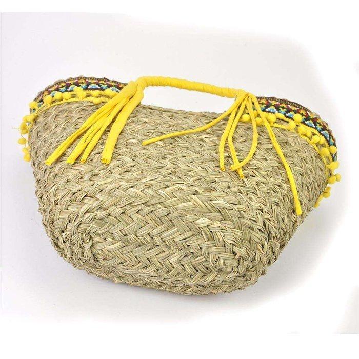 Damska Torebka ekologiczna A4 Lookat LK-MX3050 żółty