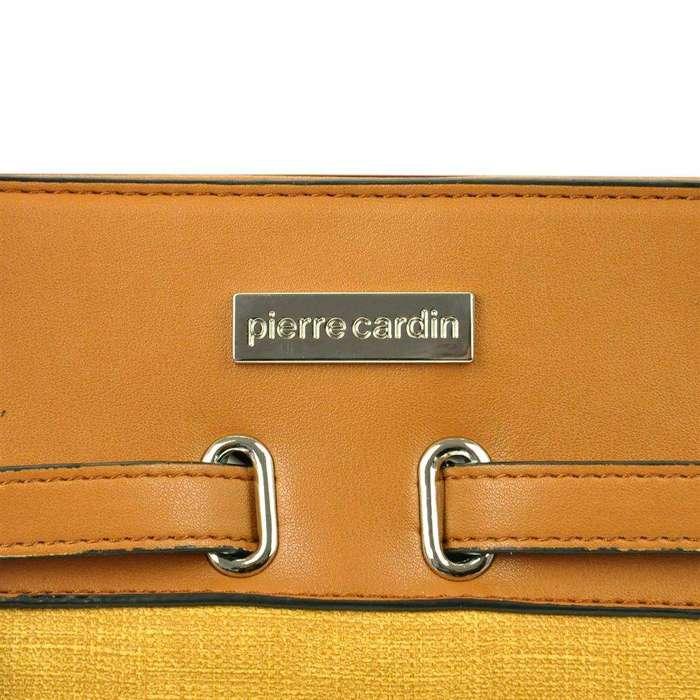 Damska Torebka ekologiczna A4 Pierre Cardin 621 MS115 camel