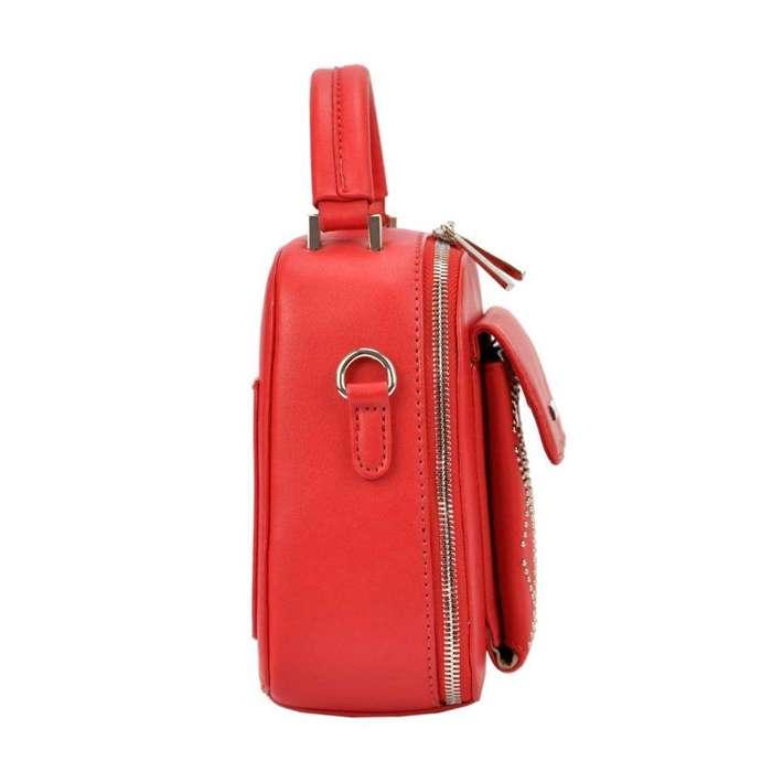 Damska Torebka ekologiczna David Jones SS5190 czerwony