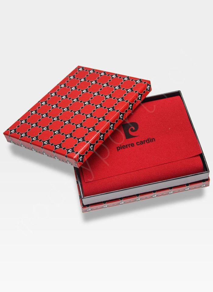 Mały Cienki Portfel Męski Pierre Cardin Skórzany Tilak26 8824 Sahara RFID