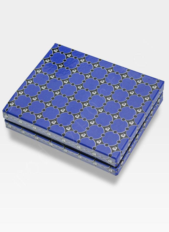 Męski portfel prawdziwa skóra Blue Mirror Pierre Cardin Tilak26 8824 RFID