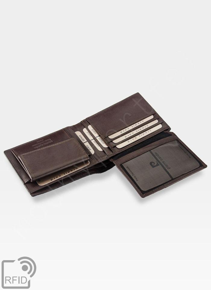 Modny Portfel Męski Pierre Cardin Oryginalny Skórzany Przeplatana Skóra CMP 8806 RFID