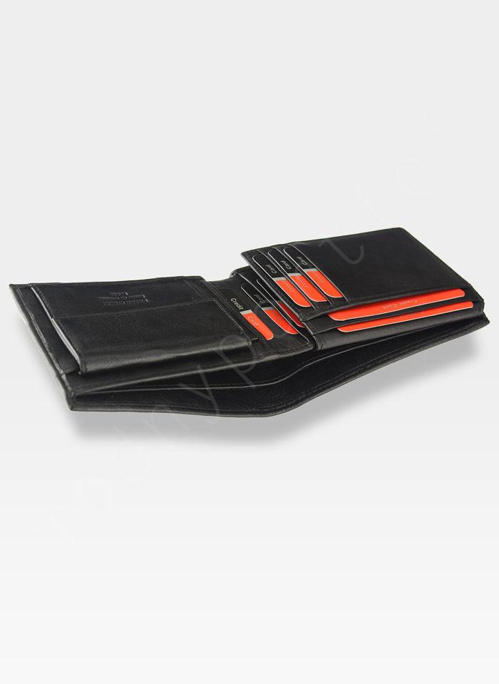 Modny Portfel Męski Pierre Cardin Oryginalny Skórzany Tilak15 8806 Sahara RFID
