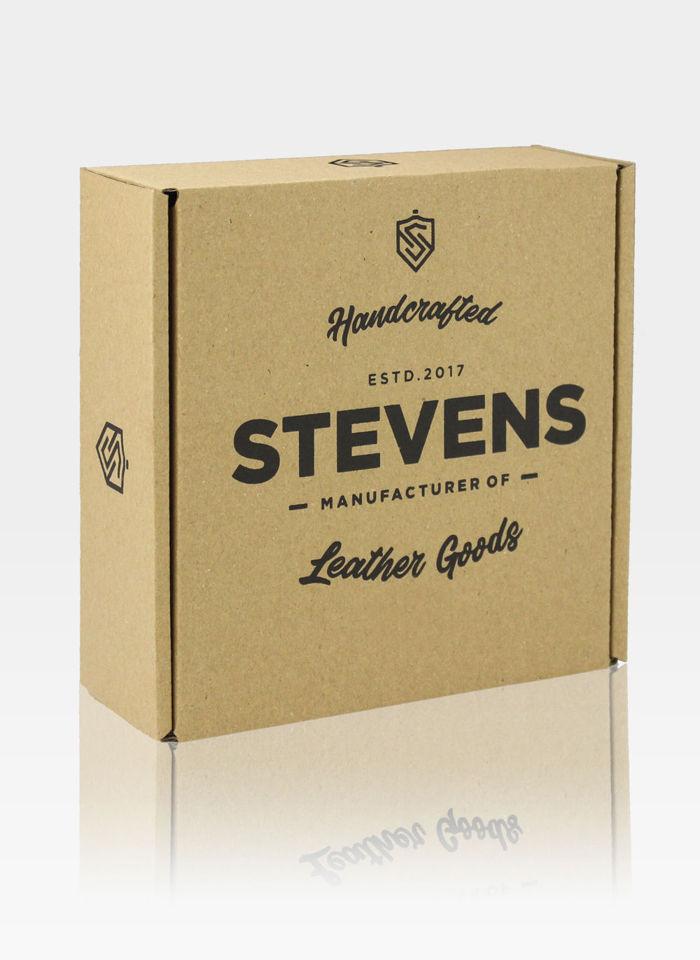 Pasek parciany do spodni marki Stevensw komplecie z pudełkiem