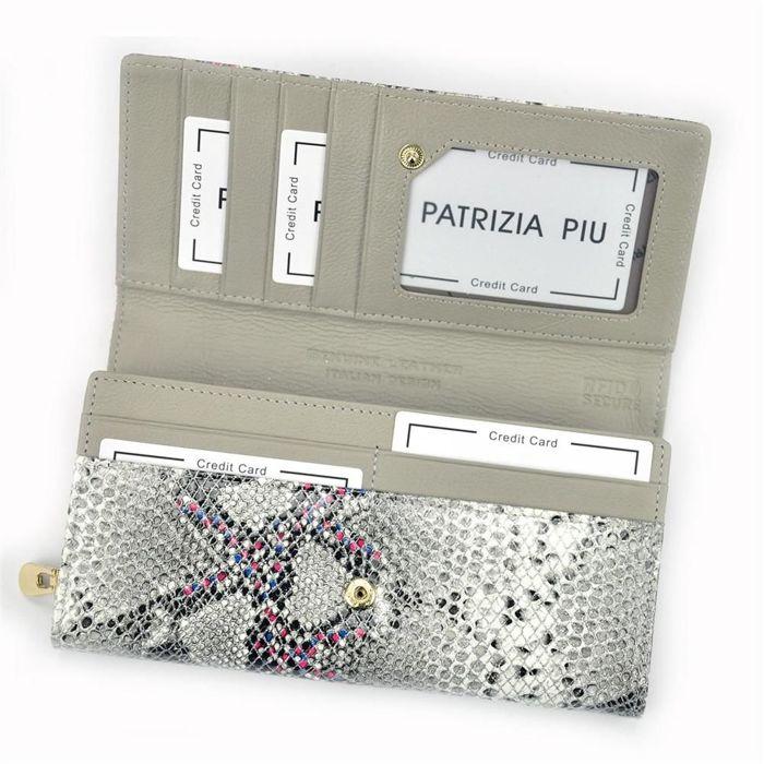 Patrizia Piu SN-106 RFID popiel + róż