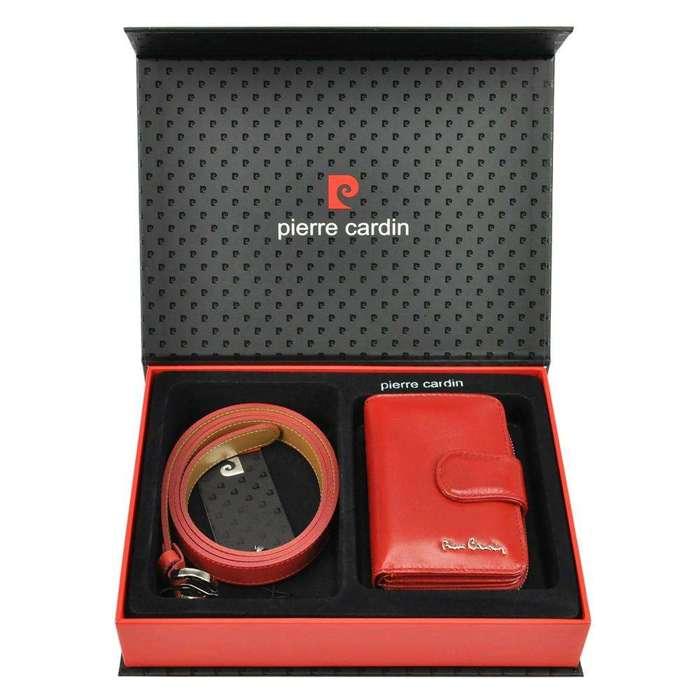 Pierre Cardin ZG-W-02 czerwony