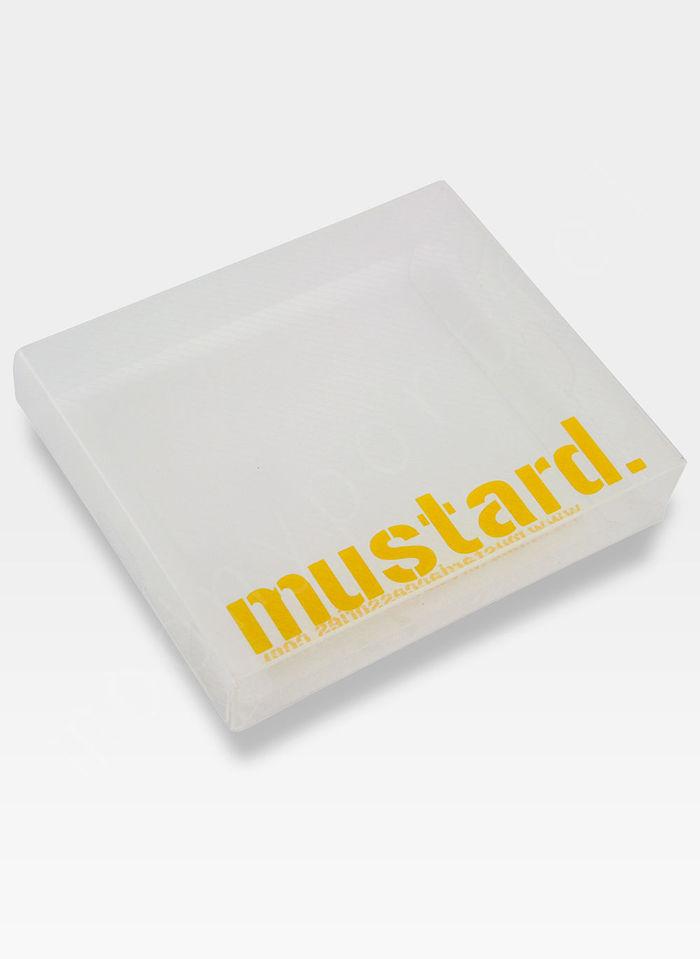 Portfel Męski Mustard CZASZKA SLIM Na Prezent