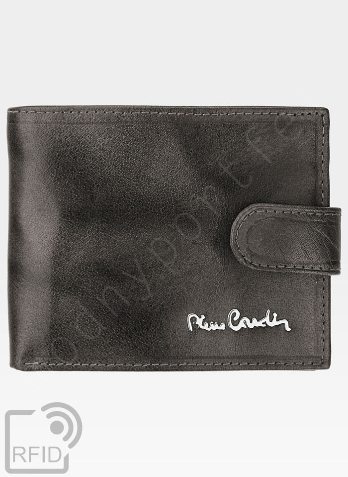 Portfel Męski Pierre Cardin Skórzany Klasyczny Zapinany Tilak12 323A RFID