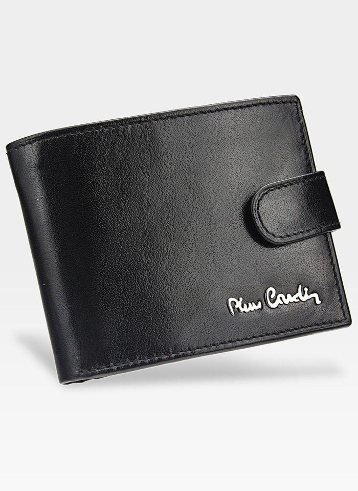 Portfel Męski Pierre Cardin Skórzany Klasyczny Zapinany YS520.1 323A