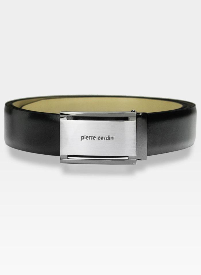 Skórzany pasek męski Pierre Cardin 70001 Najwyższej Jakości Skóra