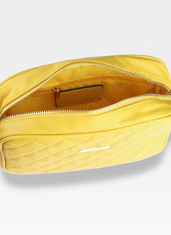 Torebka Listonoszka na ramię Peterson CHIC 3 Żółta