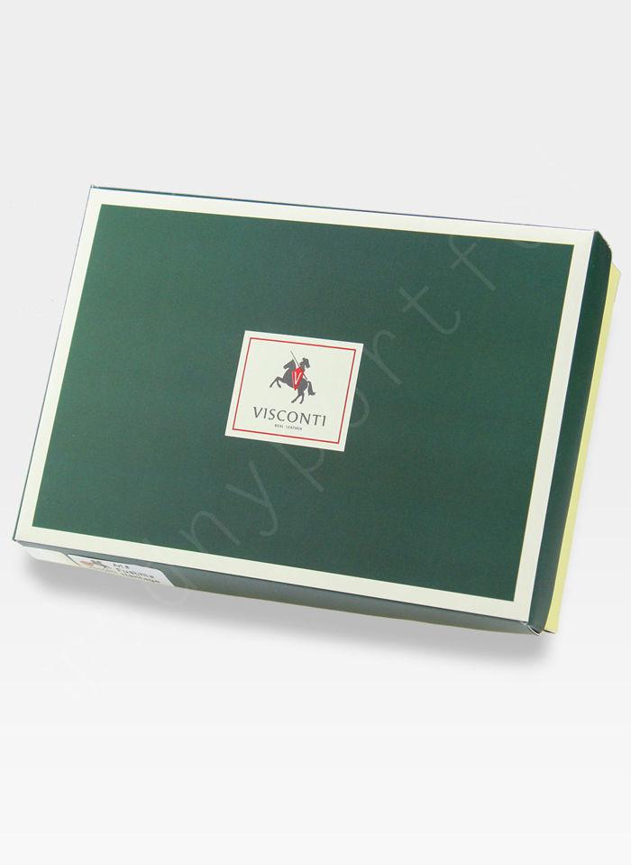 Visconti Portfel Męski Skórzany Heritage HT10 Brązowy