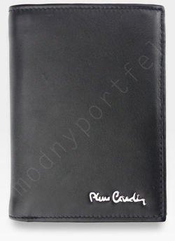 Portfel Męski Pierre Cardin Skórzany Klasyczny Czarny Tilak09 330 RFID